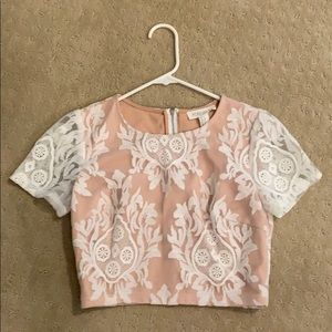 New Crop top lace